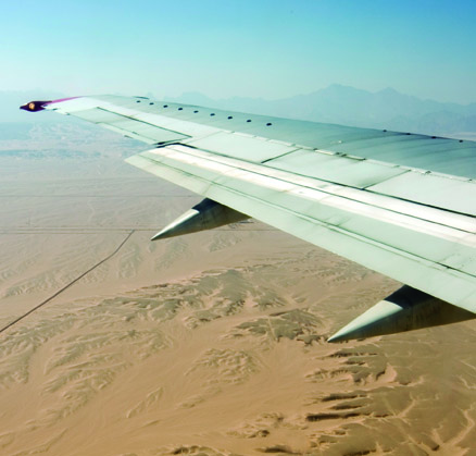 Desert, Egiped, river, sand, plane